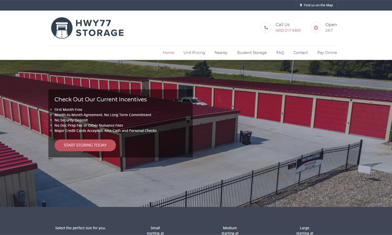 Highway 77 Storage | Lincoln, NE 2019