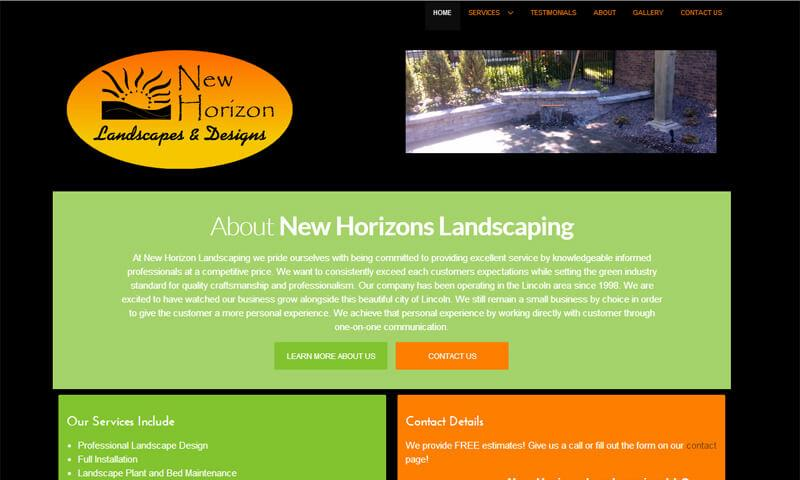 New Horizon Landscaping | Lincoln, NE | 2014