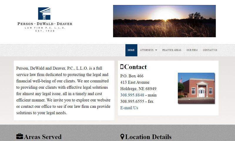 Dewald Deaver Law Firm | Holdrege, NE | 2011
