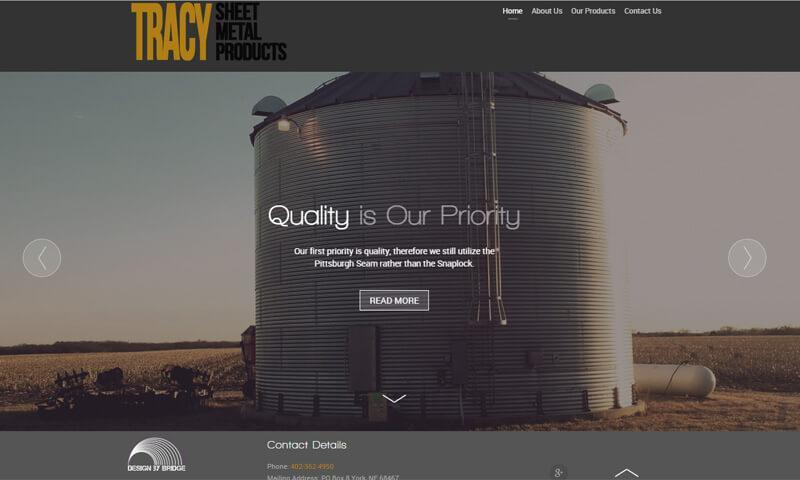 Tracy Sheet Metal Products | York, NE | 2015